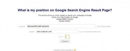 google-position-finder