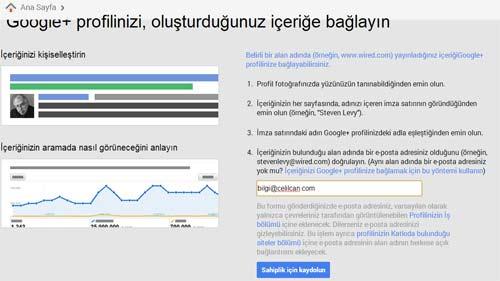 google-profil-baglama