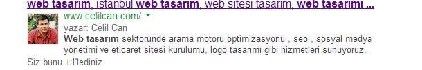 google-yazarlik