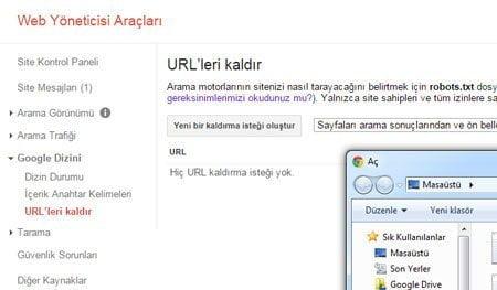 google-webmaster-toplu-url-kaldirma