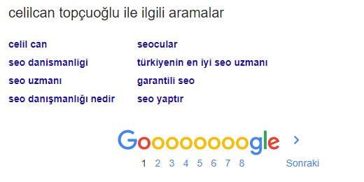 google sugget celilcan topcuoglu
